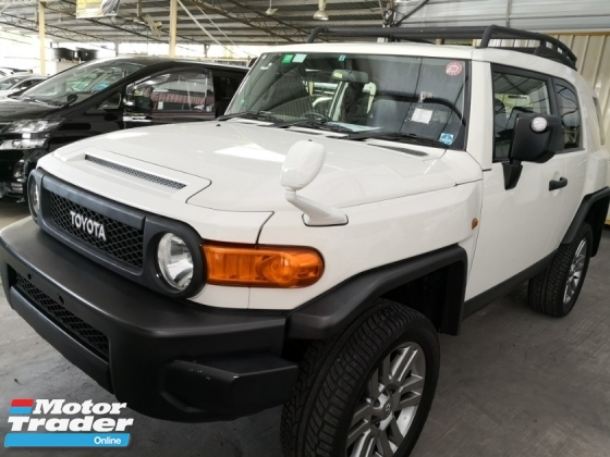 2012 TOYOTA FJ CRUISER OFFROAD PACKAGE Unreg 2012 * Great Condition *