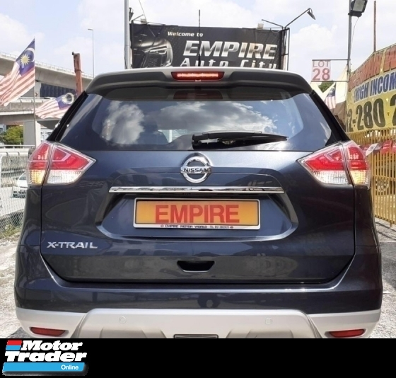 2016 NISSAN X-TRAIL 2.0 (A) IMPUL CVTC !! FULL SERVICE RECORD BY NISSAN !! MILEAGE DONE 44, 553 KM ONLY !! 7 SEATERS SUV !! NEW MODEL !! KEYLESS ENTRY / PUSH START / ECO MODE / 360 CAMERA / FULL LEATHER SEATS !! PREMIUM SUV FULL HIGH SPECS !! ( BXX 6560 ) 1 CAREFUL OWNER !!