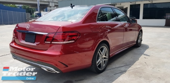 2016 MERCEDES-BENZ E-CLASS W212 E250 AMG LIKE NEW CAR~MILEAGE 1500KM ONLY~SUNROOF~360 CAMERA~