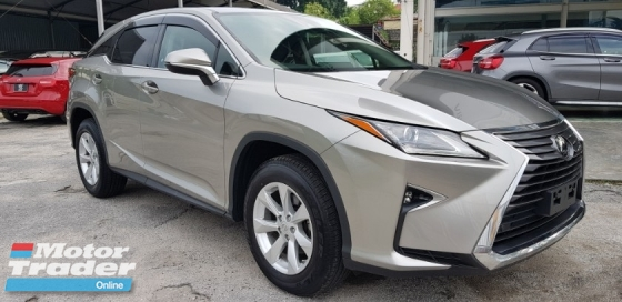2016 LEXUS RX RX200t 2.0 LOW MILEAGE