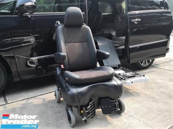 2016 TOYOTA ESTIMA 2.4 Aeras Rare Welcab Detachable Wheelchair Type READY STOCK