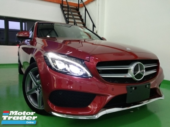 2016 MERCEDES-BENZ C-CLASS C200 AMG 2.0 (A) JAPAN UNREGISTERED