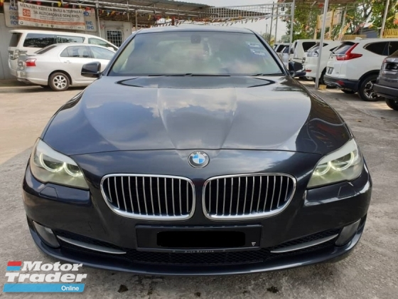 2012 BMW 5 SERIES 520I 2.0 LOCAL FACELIFT  FULL SERVICE RECORD BMW MALAYSIA 66KM ONLY