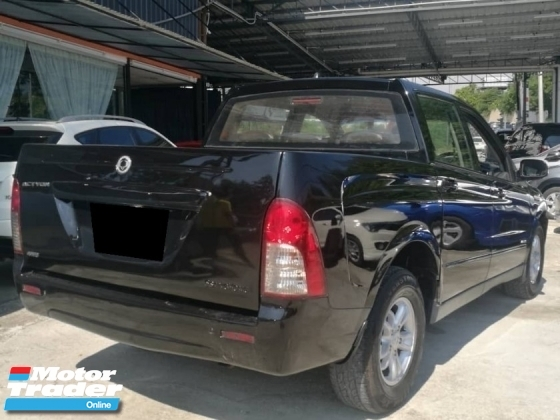 2010 SSANGYONG ACTYON SPORTS XDI 200 2.3-  Superb condition & Well maintain. Maximum finance VERY FAST LOAN APPROVAL.