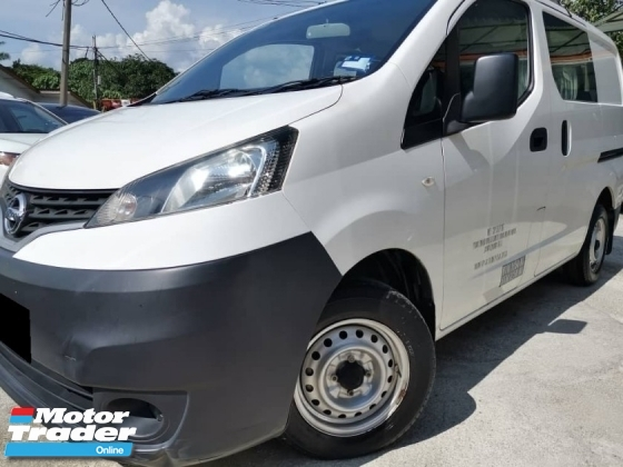 2017 NISSAN NV200 1.6 SEMI PANEL VAN-  Superb condition like new with low mileage. Maximum finance VERY FAST LOAN APPROVAL.