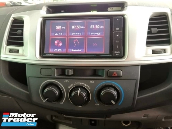 2013 TOYOTA HILUX DOUBLE CAB 3.0G (AT)