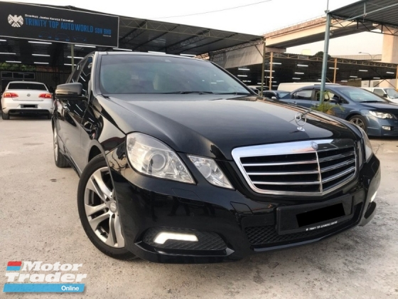 2010 MERCEDES-BENZ E-CLASS E300 AVANTGARDE 3.0 CKD LOCAL - 7 SPEED - FULL SPEC - PERFECT CONDITION - ALL ORIGINAL PART - MEGA SALE NOW - DEAL SAMPAI JADI