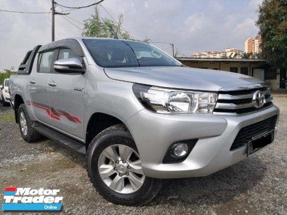 2016 TOYOTA HILUX 2.4 AT 4X4