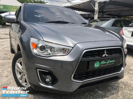 2014 MITSUBISHI ASX 2.0L 4WD FACELIFT 1% DOWN PAYMENT
