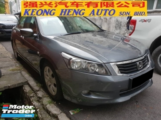 2009 HONDA ACCORD 2.0L VTi