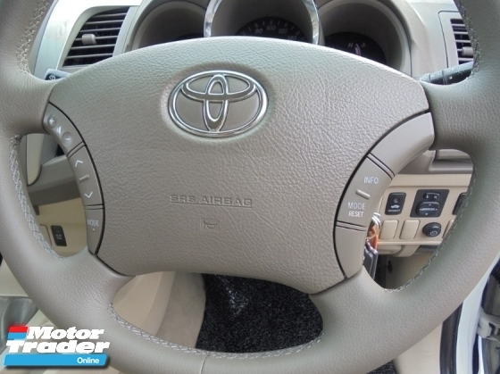 2008 TOYOTA FORTUNER 2.7 V VVT-i 4x4 TipTOP Condition LikeNEW
