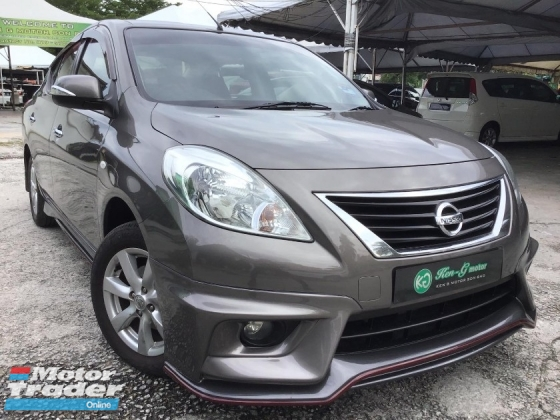 2013 NISSAN ALMERA 1.5 VL (NISMO) 1% DOWN PAYMENT