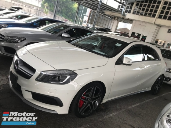2014 MERCEDES-BENZ A45 A45 AMG SPORT LEATHER SEAT 2014 JAPAN UNREG PRICE NO SST NO GST
