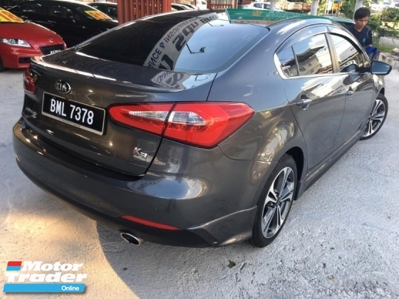 2016 KIA CERATO 1.6 K3 FULL SPEC LEATHER SEAT LED 1 LADY OWNER TIPTOP CONDITION
