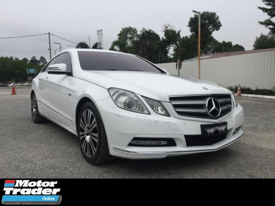 2012 MERCEDES-BENZ E-CLASS E250 CGI COUPE AMG SPEC FULL SERVICES RECORD TIPTOP