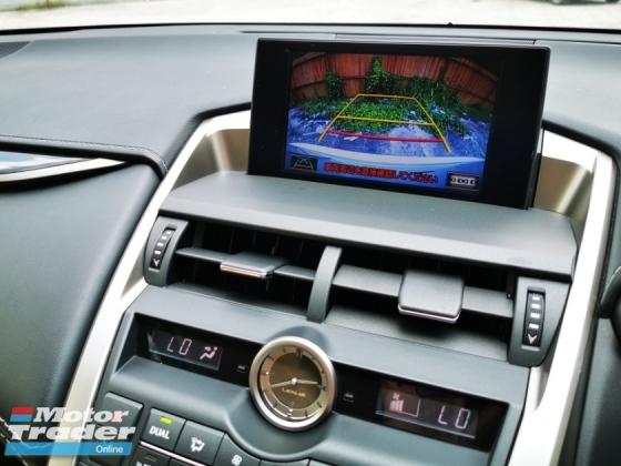 2015 LEXUS NX 2015 Lexus NX200T 2.0 Turbo Japan Spec