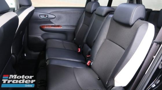 2015 TOYOTA WISH 1.8 S MONOTONE PUSH START SEMI LEATHER SEATS