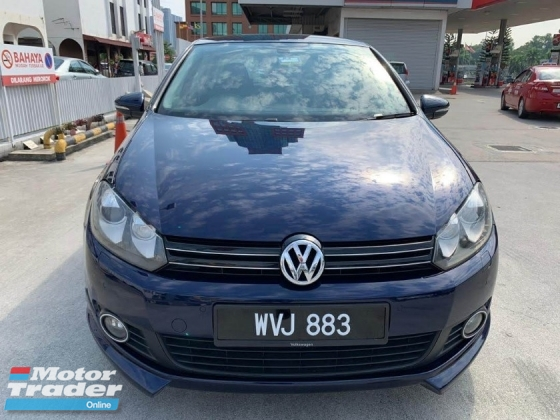 2011 VOLKSWAGEN GOLF 1.4 TSI (DSG) 1 Lady Owner/Ori Low Mileage/Confirm Accident Free/Free BodyKits/Test Drive Welcome\'