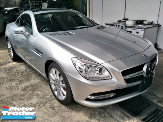 2015 MERCEDES-BENZ SLK 2.0cc PANAROMIC ROOF 17 SPORT RIM FULL LEATHER SEATS FREE WARRANTY LOCAL AP