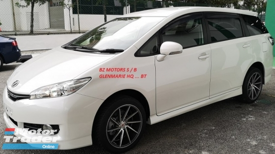 2015 TOYOTA WISH 2015 TOYOTA WISH 1.8 X SPEC CAR SELLING PRICE ONLY ( RM 95,000.00 NEGO ) WHITE COLOR ( 08698 )