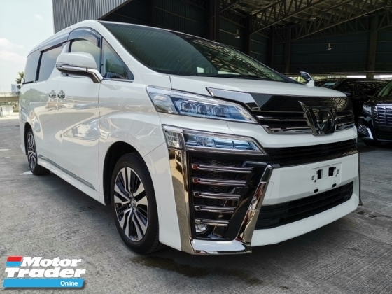 2018 TOYOTA VELLFIRE 3.5Z G EDITION NFL Sunroof Pilot Seat Roof Monitor Unreg Sale Offer