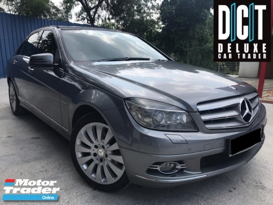 2011 MERCEDES-BENZ C-CLASS C200 ELEGANCE FACELIFT LUXURY SPEC LOW MILEAGE 1 MALY OWNER