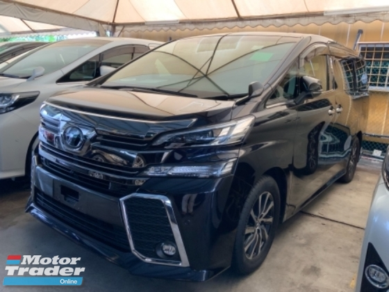 2015 TOYOTA VELLFIRE 2.5 ZG surround camera power boot pilot seat 2 power doors precrash system unregistered
