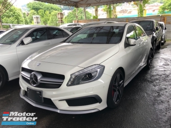2014 MERCEDES-BENZ A45 Unreg Mercedes Benz A45 AMG Sport Camera Paddle Shift 7G