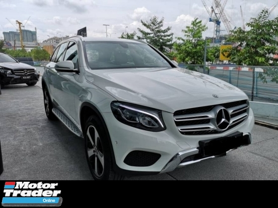 2018 MERCEDES-BENZ GLC 200 PRE OWNED RM253,000 WARRANTY TILL 2023