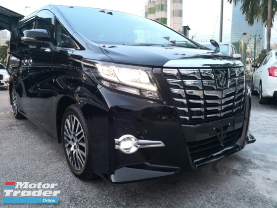 2016 TOYOTA ALPHARD 2.5 SC WITH ON THE ROAD PRICE
