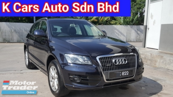 2012 AUDI Q5 2.0 (A) TFSI Quattro (4WD) Facelift (CBU) New Go With VIP Number 822 Super Smooth Condition Confirm Accident Free No Repair Need Free Warranty Worth Buy