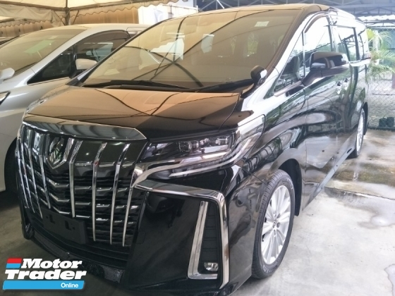 2018 TOYOTA ALPHARD 2.5 S SPEC POWER BOOT 360 SURROUND CAMERA 7 SEATER 18 SPORT RIM FREE WARRANTY LOCAL AP