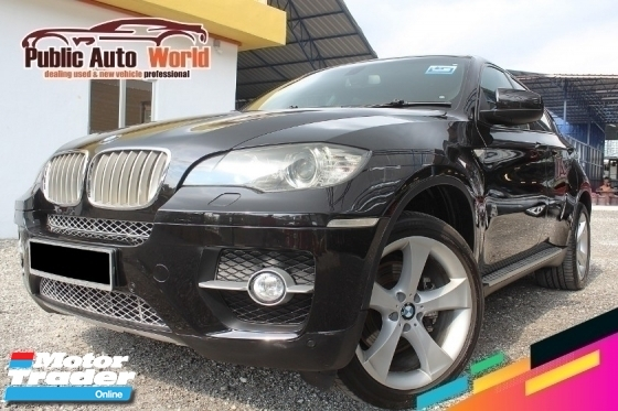 2010 BMW X6 BMW X6 3.0 Turbo xDrive35d (A) Rev/Cam TipTop 2010