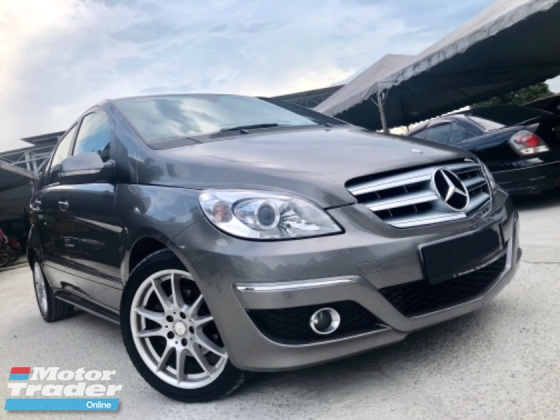 2011 MERCEDES-BENZ B-CLASS B180 1.7 (A) SPORT CBU LOCAL FULL SPEC 1 LADY ONWER