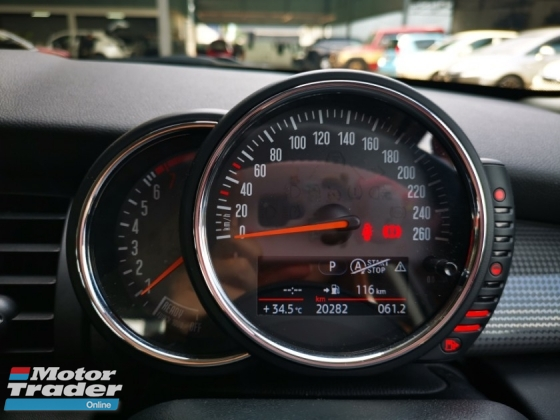 2016 MINI Cooper 1.5L 4 DOOR - JAPAN SPEC - UNREGISTERED