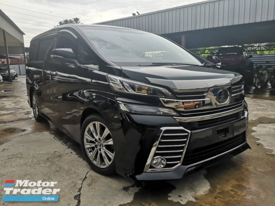2017 TOYOTA VELLFIRE 2.5 (A) TYPE GOLDEN EYES UNREGISTERED