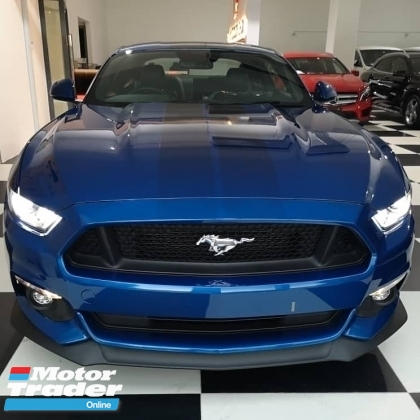 2017 FORD MUSTANG 5.0 V8 GT FAST BACK LIGHTING BLUE