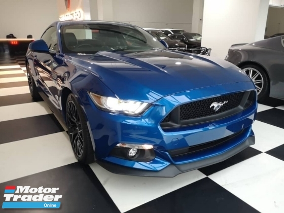 2017 FORD MUSTANG 5.0 V8 GT FAST BACK LIGHTING BLUE