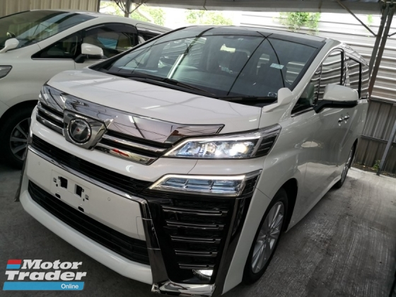 2018 TOYOTA VELLFIRE 2.5ZG Edition Full Specs with Android Touch Screen Player Unreg 2018
