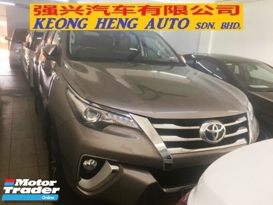 2017 TOYOTA FORTUNER 2.7 SRZ (A) BEST DEAL