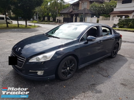 2013 PEUGEOT 508 1.6 A FULL SERVICE RECORD