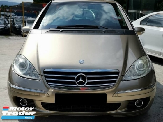 2007 MERCEDES-BENZ A-CLASS A170 1.7 - Superb condition, Low mileage & Well maintained performance like new. Maximum finance VERY FAST LOAN APPROVAL.