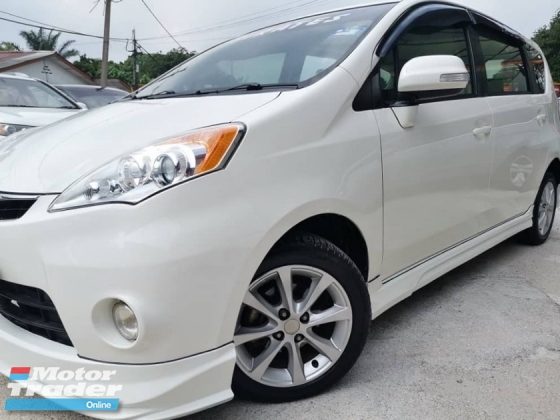 2012 PERODUA ALZA 1.5 SXI - Superb condition & Well maintained performance like new. Maximum finance VERY FAST LOAN APPROVAL.