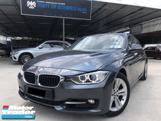 2016 BMW 3 SERIES 320I 2.0 SPORTS FULL SPEC - FACELIFT - UNDER WARRANTY - FULL SERVICE - TWIN POWER TURBO - 8 SPEED - LIKE NEW CONDITION - OFFER MEGA SALE - DEAL SAMPAI JADI