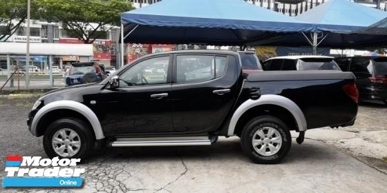 2013 MITSUBISHI TRITON 2.5 VGT (A) 4WD TipTopCond Loan 9year
