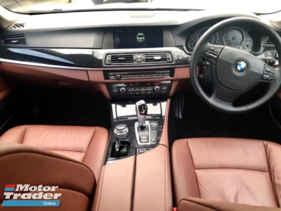 2014 BMW 5 SERIES 520i 2.0 LIMOUSINE (A) LUXURY SEDAN TIP-TOP CONDITION