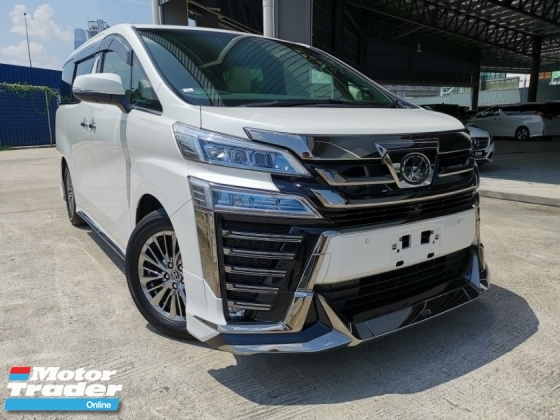 2018 TOYOTA VELLFIRE 3.5 EXECUTIVE LOUNGE Z