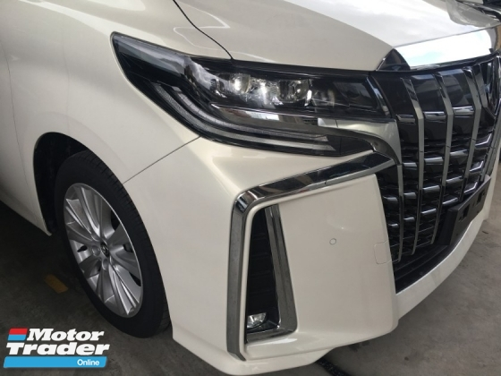 2018 TOYOTA ALPHARD 2.5 SA NEW MODEL SUN ROOF FULL CAM POWER BOAT