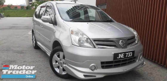 2011 NISSAN LIVINA 1.6 (A) PREMIUM IMPUL TIPTOP CONDITION