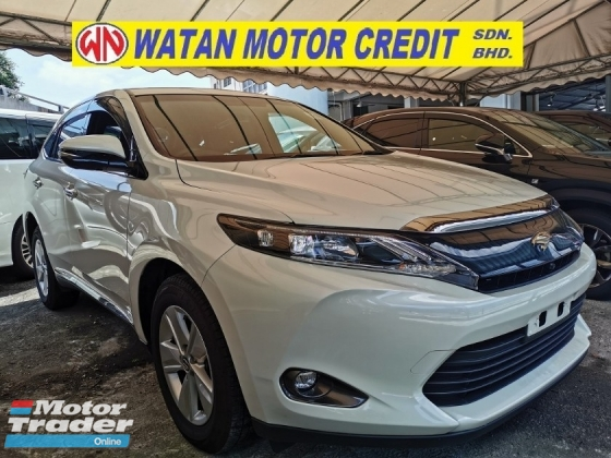 2016 TOYOTA HARRIER 2.0 PREMIUM FULLSPEC UNREG.NO HIDDEN CHARGE.TRUE YEAR MADE CAN PROVE.PANAROMIC ROOF.POWER BOOT.360 SURROUND CAMRA.SPORT RIM.LED LIGHT N ETC.FREE WARRANTY N MANY GIFTS